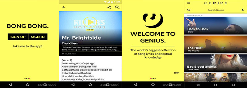 descargar app musica genius song